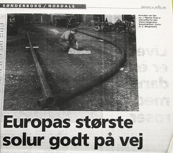 foto fra Jydske Vestkystens artikel 1991